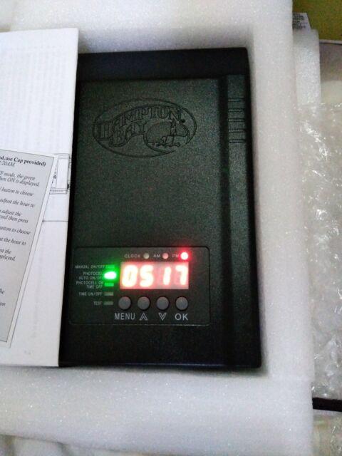 Hampton Bay Landscape Transformer 120 Watt Low Voltage Photocell Timer Plug In For Sale Online