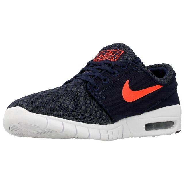 bad9434e00f4 Nike SB Stefan Janoski Max Size 12 Obsidian Hot Lava White 631303 466 for  sale online