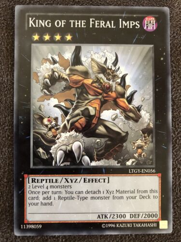 King Of The Feral Imps Yugioh Card Genuine Yu-Gi-Oh Trading Card