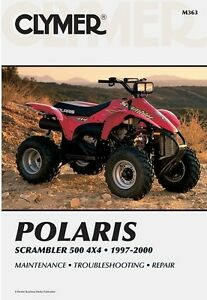wiring diagram 2000 polaris scrambler 4x4 clymer service repair manual book polaris scrambler 500 4wd 4x4 97  polaris scrambler 500 4wd 4x4