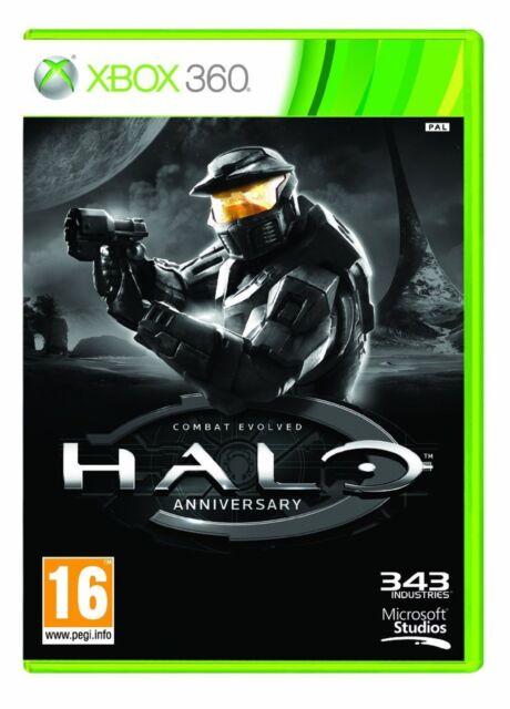 Xbox 360 Halo Aniversario Combat Evolved Nuevo Precintado Pal España