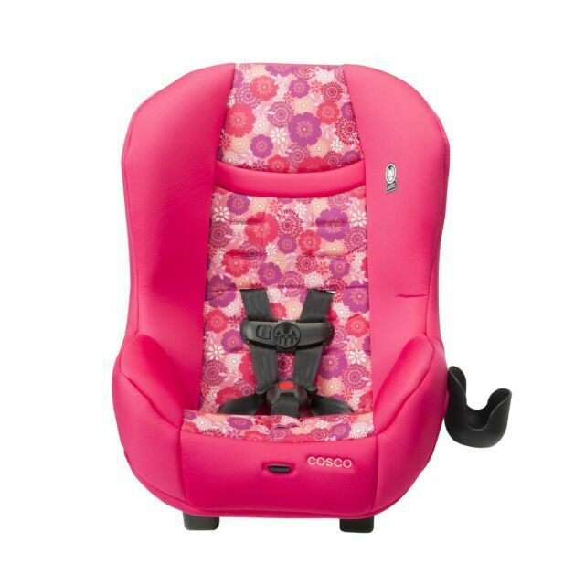 Convertible Car Seat Toddler Baby Cosco Scenera Next Rear Front Face Orchid Pink