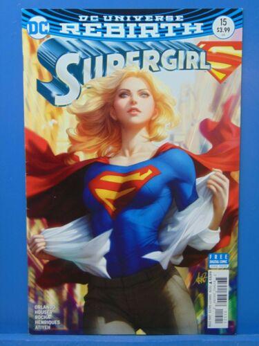 Supergirl #15 Rebirth Stanley Artgerm 1st Print  Variant D.C Comic CB14713