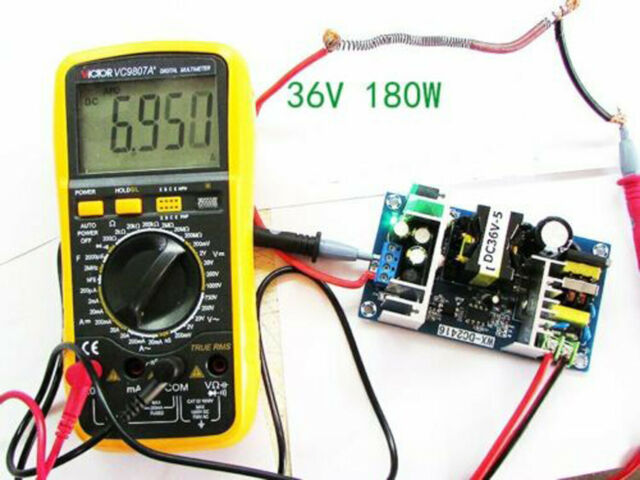 1x New High-power 36V 5A 180W AC-DC Power Module Switching Power Supply Board