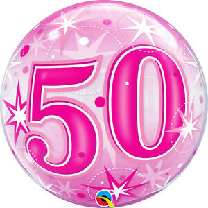 50th-BIRTHDAY-BALLOON-22-034-PINK-50th-BIRTHDAY-PINK-BUBBLE-QUALATEX-PARTY-BALLOON