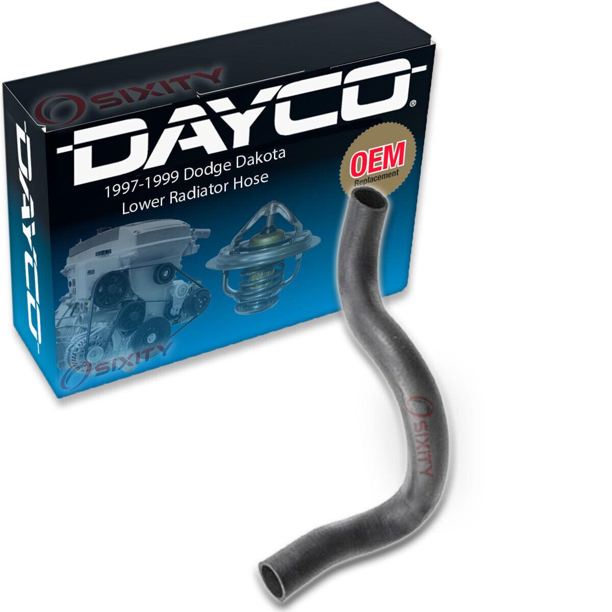 Engine dv Dayco Lower Radiator Hose for 1997-1999 Dodge Dakota 3.9L V6