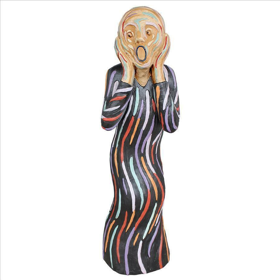 Painting Come to Life The Silent Scream Expressionist Expressionist Expressionist Strong Emotions Sculpture c12428