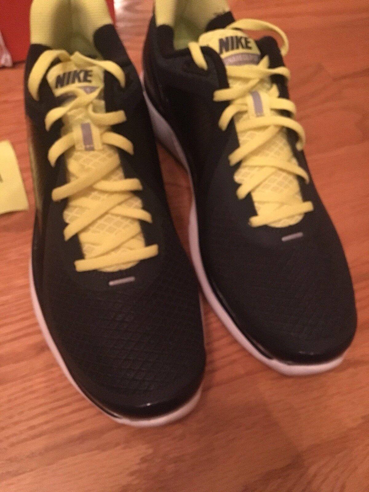 Brand New Nike lunareclipse Size 11.5 White Black Volt