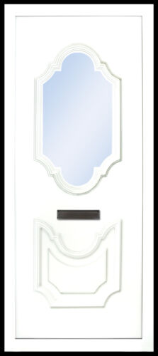 PVC uPVC White Full Door Panel 20mm 24mm 28mm 790mm x 1930mm