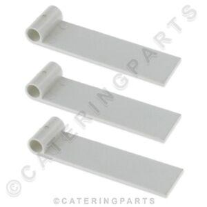 Pack 3 X Plastique Ice Maker Machine Rideau Rabats Zanussi Electrolux Brema-afficher Le Titre D'origine Hs0j3ue1-10125317-646838093