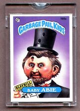 """1985 Topps GPK Garbage Pail Kids UNPUBLISHED Proof Set #199A """" Baby ABIE ! """""""