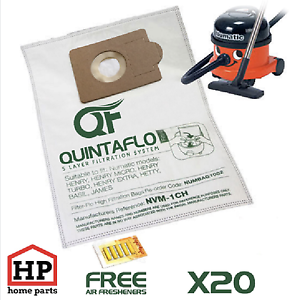 20x-Numatic-Henry-Hetty-James-Vacuum-Cleaner-Hoover-Bags-Fresheners-Microfleece