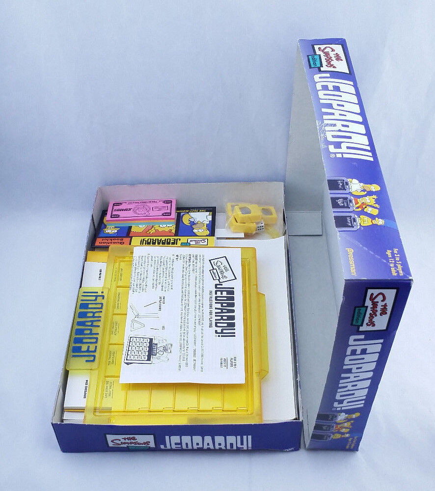 The Simpsons Simpsons Simpsons Board Game Jeopardy  2003 Pressman eed4fe
