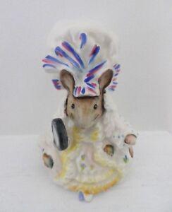 Beswick Beatrix Potter Figurine-dame Souris Bp3b-parfait!!!-afficher Le Titre D'origine Bdhf8bic-07233202-805355723