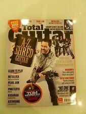 Total Guitar 235  WINTER 2012 A-Z of Shred METALLICA PEARL JAM PINK FLOYD