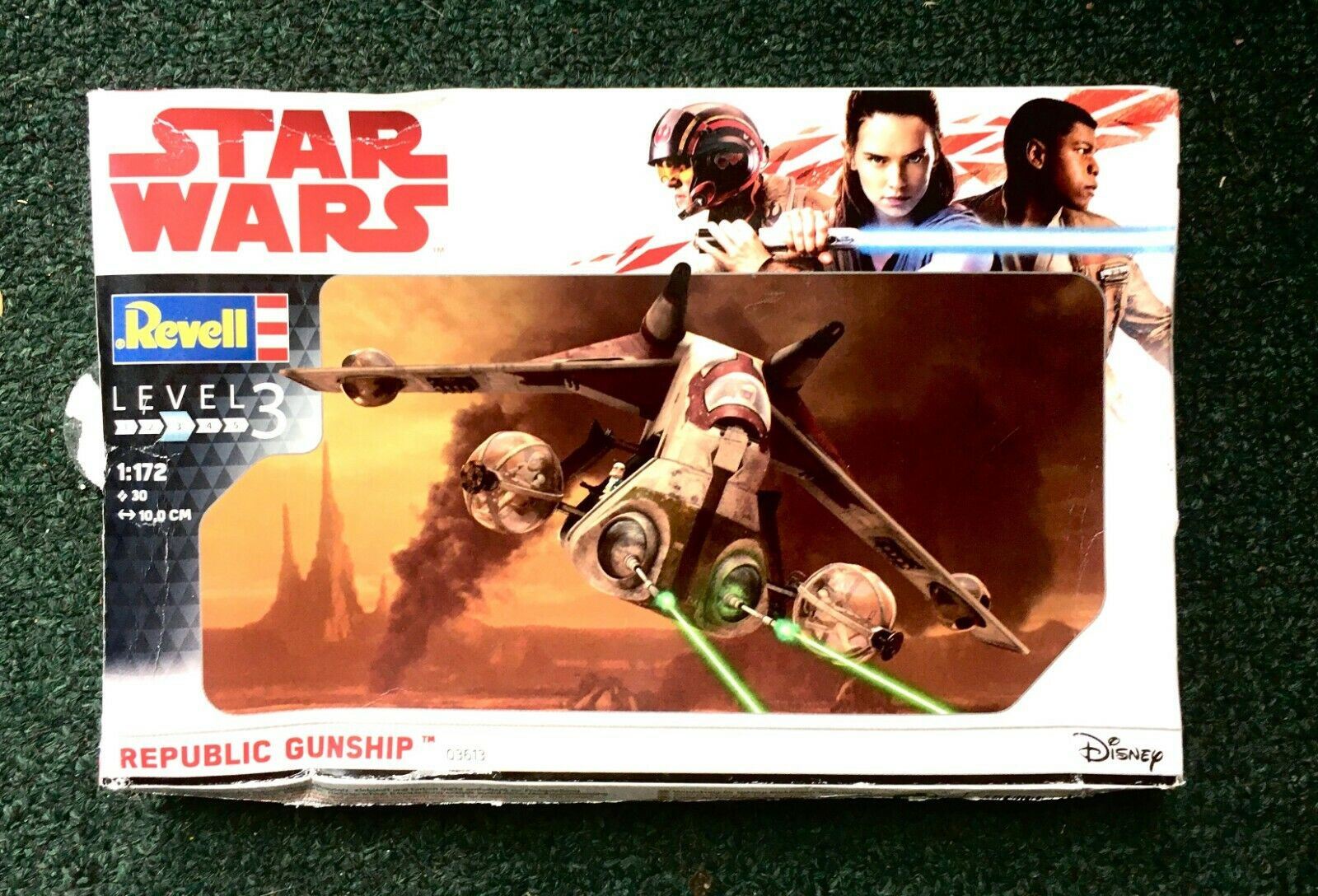 Revell 03613 Star Wars Republic Gunship im Maßstab 1:172