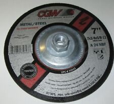 25-Pack United Abrasives//SAIT United Abrasives-SAIT 24230 Type 27 9-Inch by 1//4-Inch by 7//8-Inch Stainless XA24Q Depressed Center Wheel