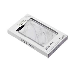 new style add0b 6cd96 Details about Genuine LuMee Duo Illuminating LED Selfie Case for Apple  iPhone X 10 - Marble