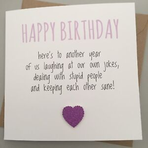 Image Is Loading FUNNY FRIEND BIRTHDAY CARD CUTE CHEEKY HUMOUR FUN