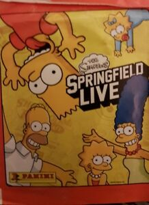 THE SIMPSONS SPRINGFIELD LIVE X5O LOOSE STICKERS