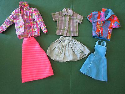 (275) 3 Vecchie Vintage Barbie Rock/obertel-combinazioni U.a.29cm Barbie Bambole Moda-ombinationen Barbie U.a.29cm Modepuppen It-it Mostra Il Titolo Originale Irrestringibile