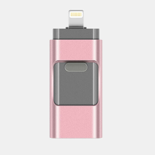 ALPEG USB Flash Drive for iPhone,128GB//256GB USB//Lightning//Micro USB 3 in 1 Photo Stick Memory Stick External Storage Thumb Drive Compatible with iOS//Android//PC,aa,128GB