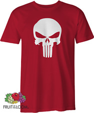 The Punisher Mens Adults T-SHIRT Marvel Comics Super Hero Skull Tshirt S 5XL