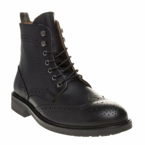 Sole Up Mens Zip Boots Black Leather New Zip Herald AS1qa