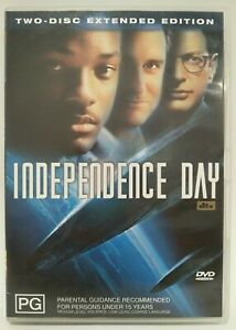 Independence-Day-Two-Disc-Extended-Edition-Dvd-Region-4-VGC