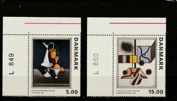 A111-danemark-sg1016-1017 Neuf Sans Charnière 1993 Peintures PréVenir Et GuéRir Les Maladies
