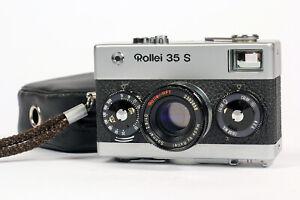 Superb-Rollei-35-S-Camera-40mm-f2-8-Sonnar-HFT-Lens