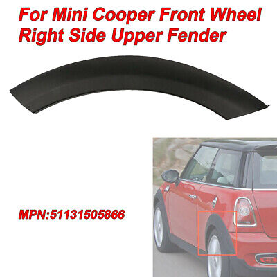 Fit Mini Cooper 2002-2008 Front Wheel Right Side Upper Fender Arch Cover Trim