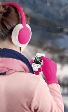 SET Muvit Earmuff Headphones Kopfhörer  und  Touch Glove Handschuhe Pack Pink