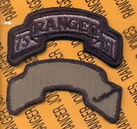75th INFANTRY AIRBORNE RANGER REGIMENT ACU scroll patch