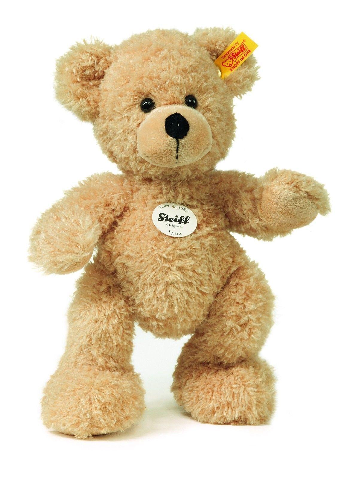 Steiff Fynn Teddy Bear Beige Medium with Free Steiff gift box EAN 111327