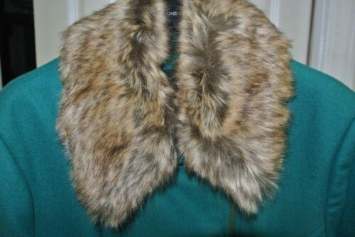 en noirs 00 en d'hiver laine et de 350 Msrp L cuir mélange rivets Sz Manteau Wilson's 840qUwxU