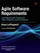 Agile Software Requirements by Dean Leffingwell Hardcover Book (English)