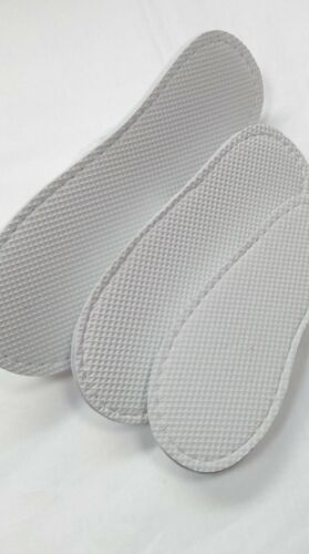 WHOLESALE CORAL SOFT FLEECE WHITE HOTEL SLIPPERS FOR THE FAMILY 3 SIZES UK1,4/&8