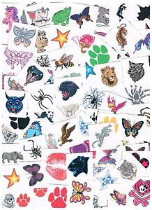 Bulk Kids Temporary Tattoos - Party Favours - lots of ...