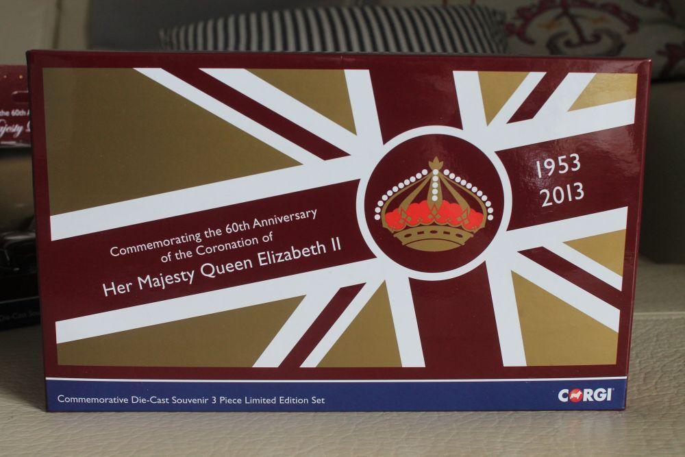 CORGI TOYS  GIFT SET  60 years Coronation Queen Elizabeth  OVP