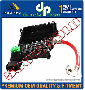 Details about VW JETTA BEETLE GOLF FUSE BOX + HOLDER + FUSE FUSES  on