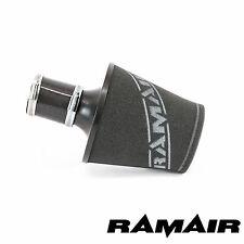 RAMAIR BLACK Medium ALUMINIUM AIR Filter With 60mm ID SILICONE COUPLING