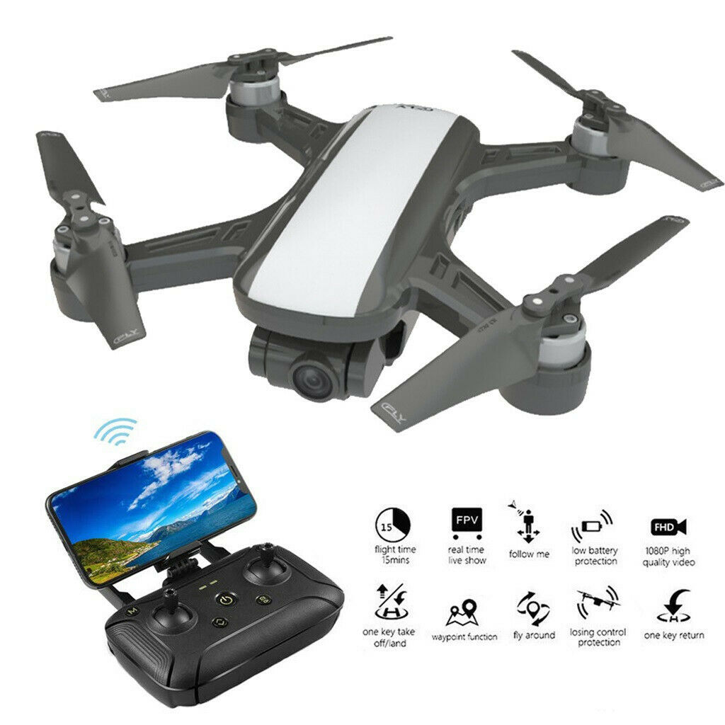 C-Fly 5G WIFI  GPS RC Drone With 2-Axis Gimbal 1080P HD FPV telecamera Brushless RTF  fino al 65% di sconto