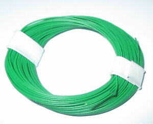 1m-17-9-CT-Highly-Flexible-0-04-mm-Decoder-Wire-Cable-Green-10m-Ring-gt-New