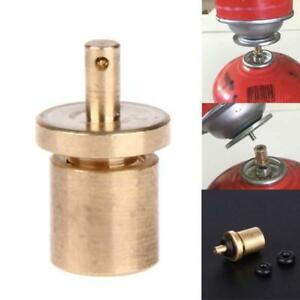 Gas  Refill Adapter Outdoor Camping Stove Cylinder Filling Butane Canister P1