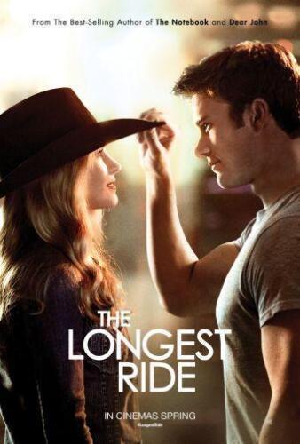"Longest Ride The Movie Poster Mini 11/""X17/"""