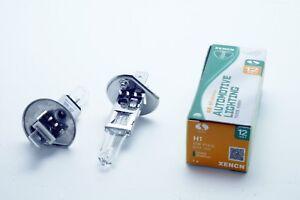 2x HALOGEN BULBS XENCN © H1 55W P14.5s 12V WHITE 3200K STANDARD E4