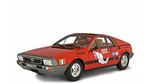 Lancia Beta MonteAutolo Autorera Messagana 1 ; serie 1975 rot LM1202CMX 1 18 Laudor