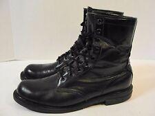 "Chippewa 8""  Black Service Round Toe Boots - Men's 10 D Uniform Military Work"