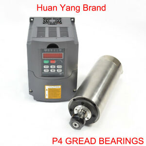 HY-2-2KW-80MM-ER20-WATER-COOLED-SPINDLE-MOTOR-AND-HY-2-2KW-INVERTER-VFD-FOR-CNC